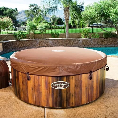 Solid-Sided Hot Tubs